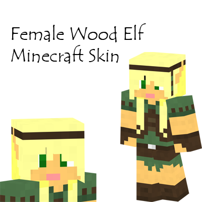 Wood elf female minecraft skin by amayanina on deviantart wood elf female minecraft skin by amayanina sciox Images