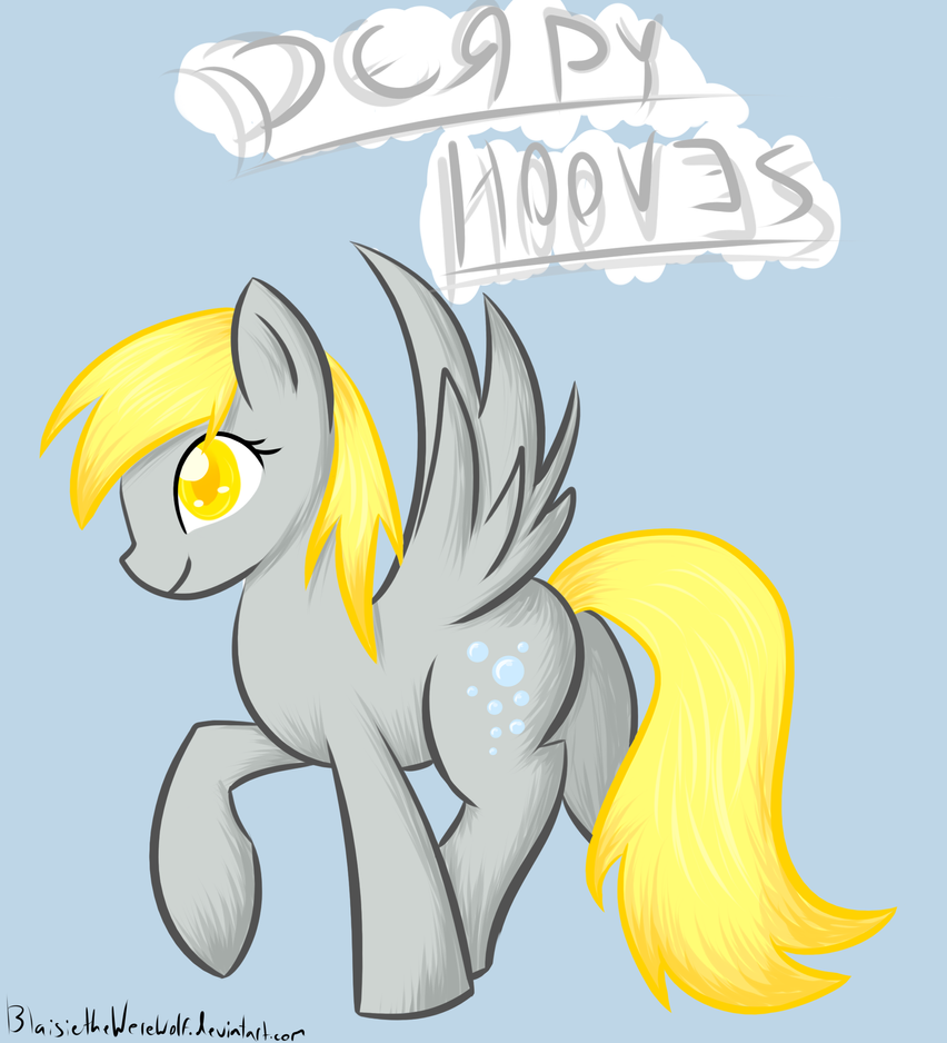 Derpy Hooves by Blaisie