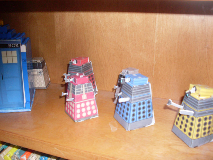 The Daleks have the TARDIS... by sonickingscrewdriver
