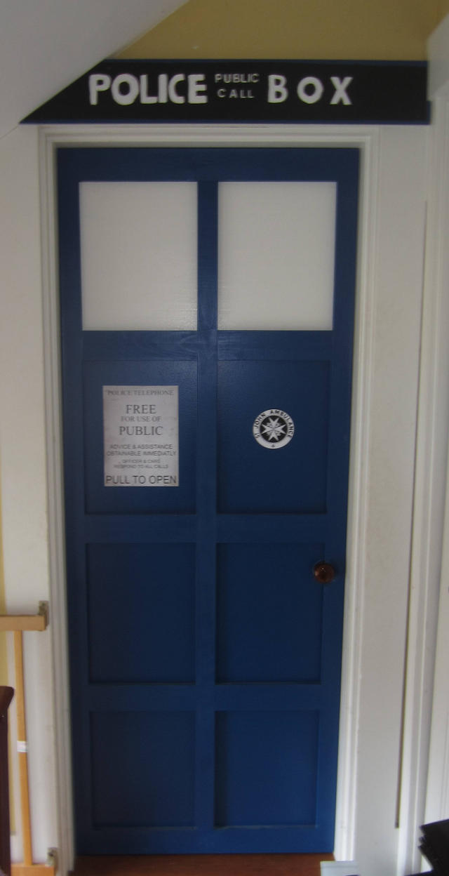 WIP 2 - Tardis Door by sonickingscrewdriver