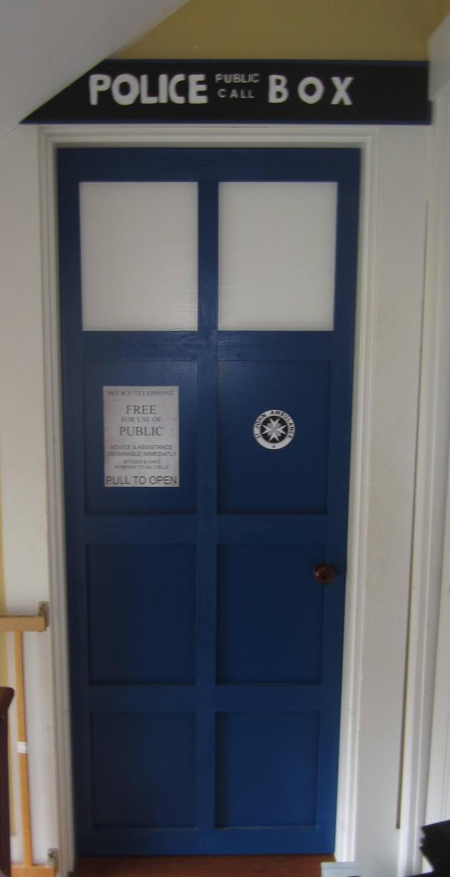 WIP 2 - Tardis Door by sonickingscrewdriver