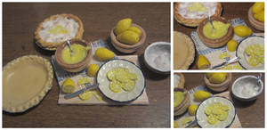 Lemon Meringue Pie Prep Board by sonickingscrewdriver