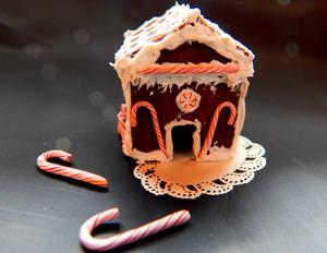 Miniature Gingerbread House II