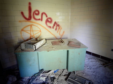Belchertown State School - Infirmary Entrance
