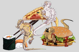 don't eat too much fastfood by SignlessCan