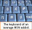 Msn Addict Icon by xXtehflyingpigXx