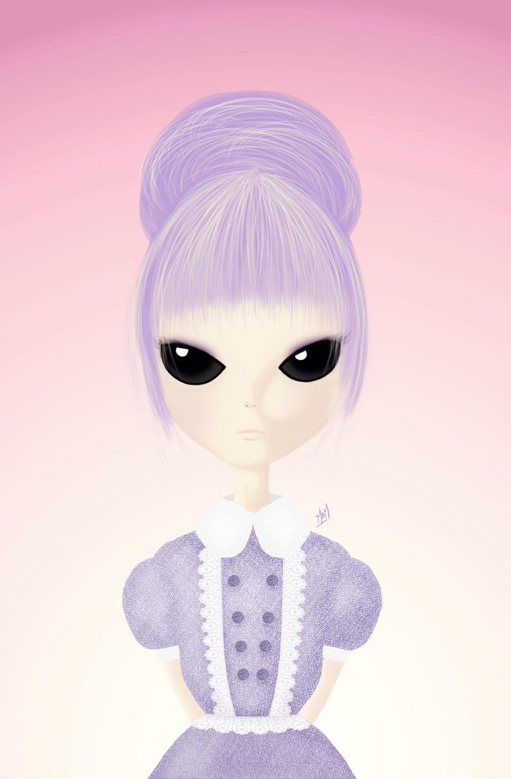 Miss Purple by airamneleb