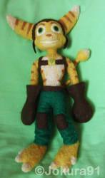 Ratchet_Needle felted doll