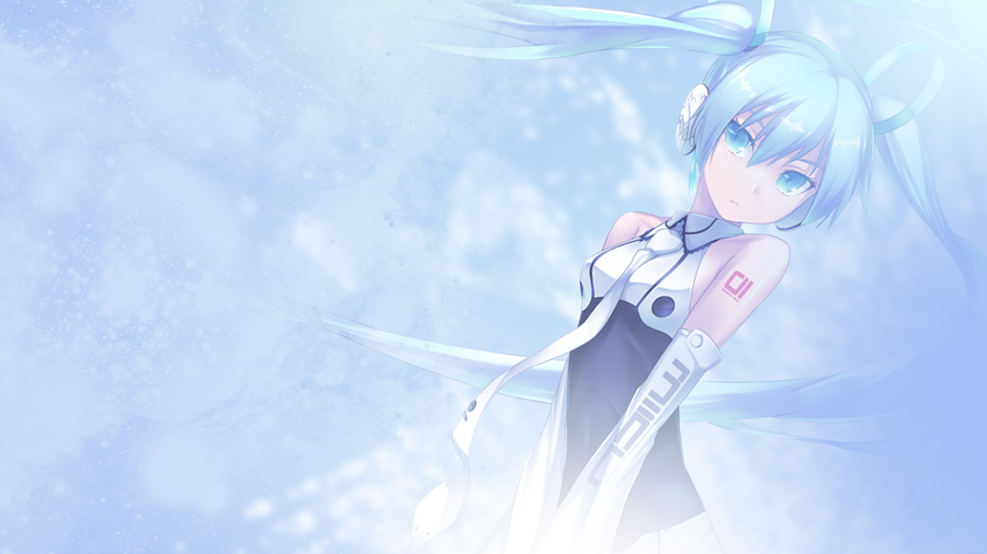 Hatsune Miku 3 - Wallpaper by lithyun