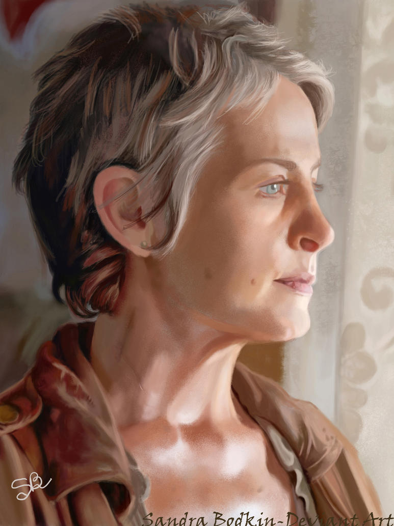 Melissa McBride - TWD - Carole Peletier by Gael9