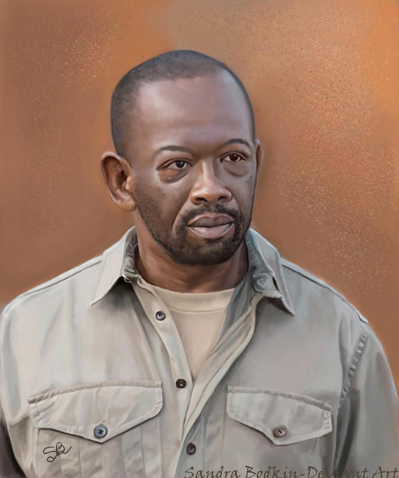 Morgan (Lennie James) TWD - Season 6 by Gael9