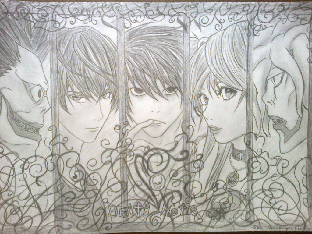 Death Note by RSTFrame1595