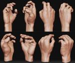 Hand anatomy study