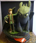 Hiccup and Toothless 1