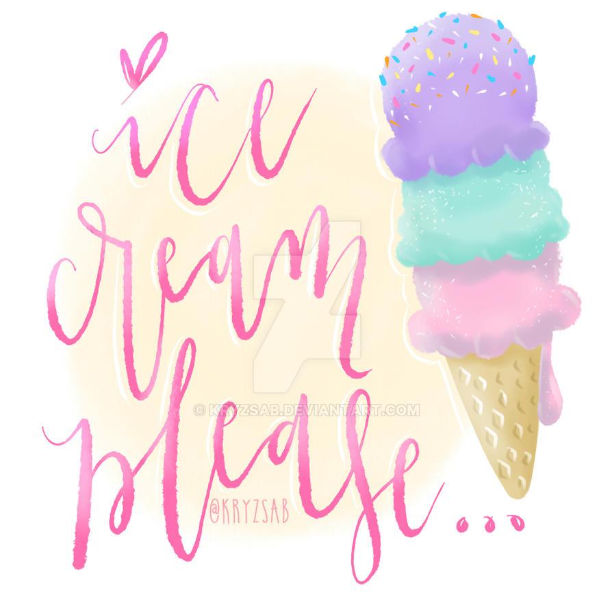Ice Cream Please... by kryzsab