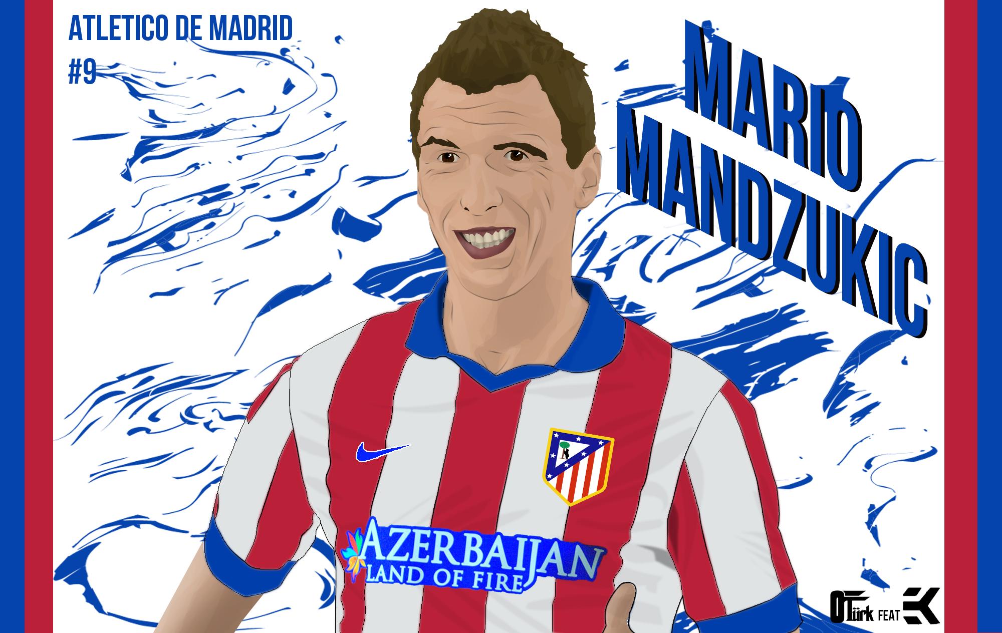 Mario Mandzukic by OturkDesing on DeviantArt