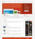 Aqua-Terra-Lava HTML-CSS Theme