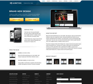 Ambition Wordpress
