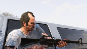 Call of duty bo3 m16 in GTA 5