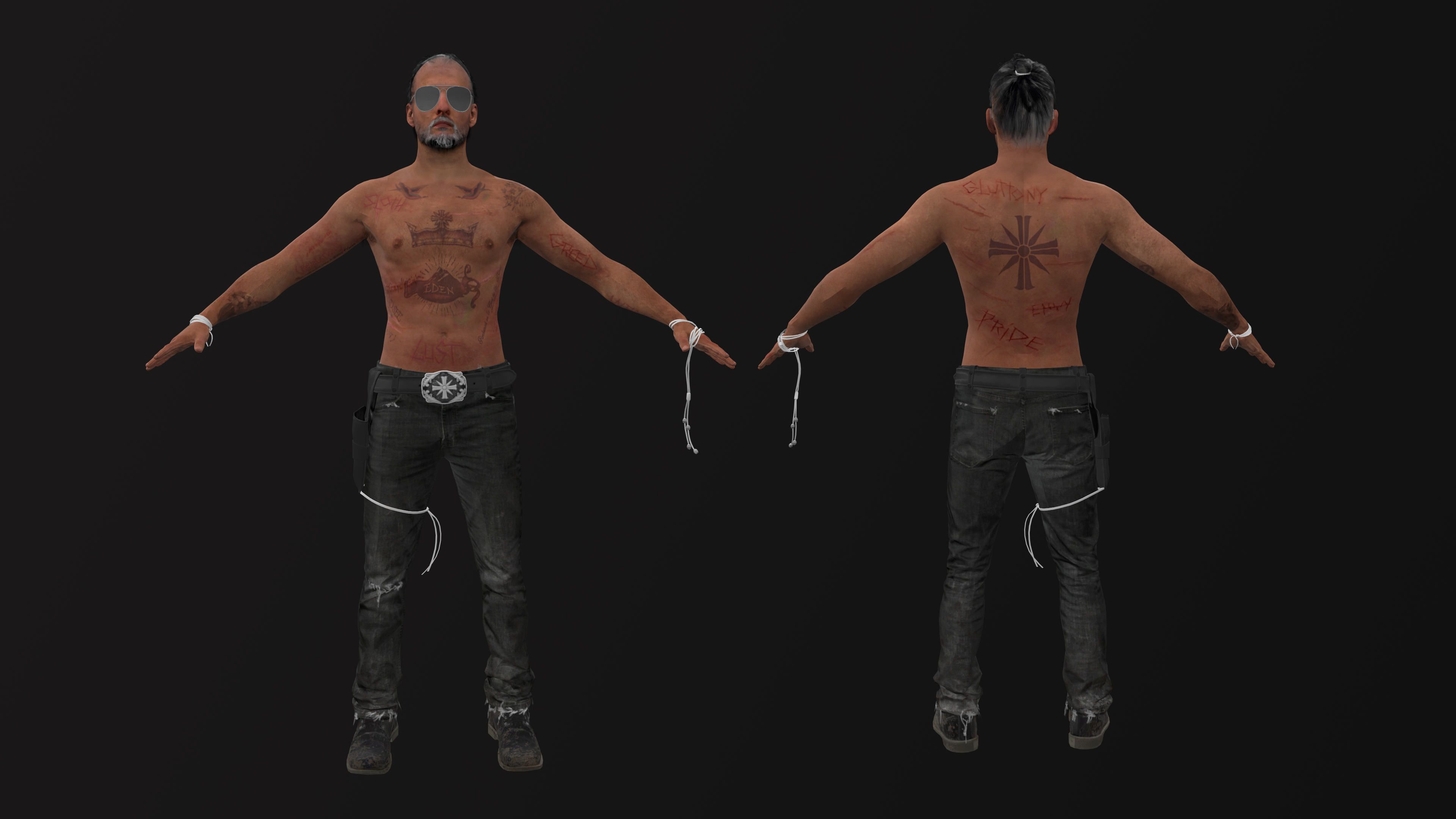 Far Cry 5 Joseph Seed Wip By Connorukboy On Deviantart
