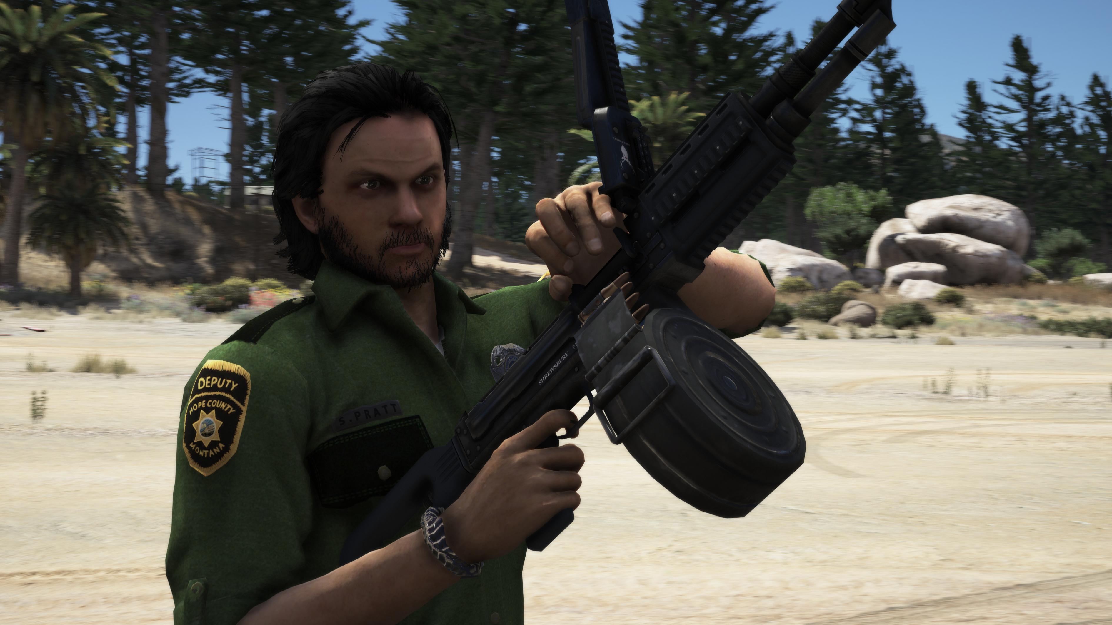 Far Cry 5 Deputy Pratt In Gta 5 By Connorukboy On Deviantart