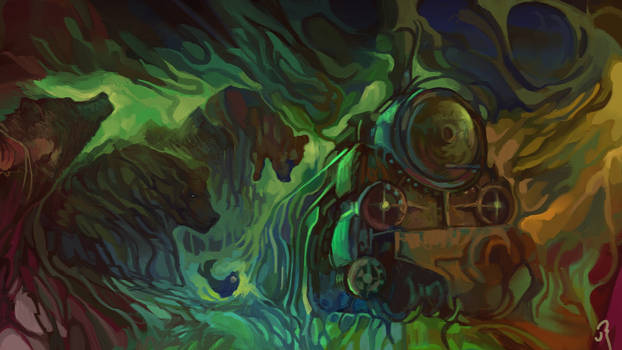 A train by pawelshogun