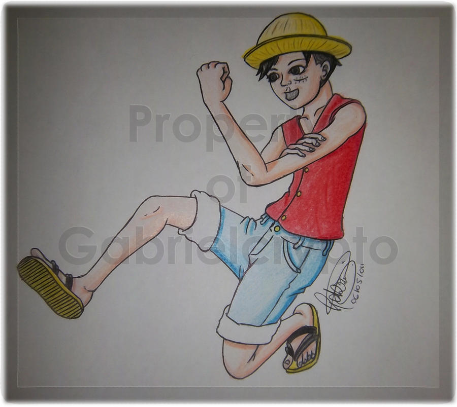Luffy by gabrielcrypto