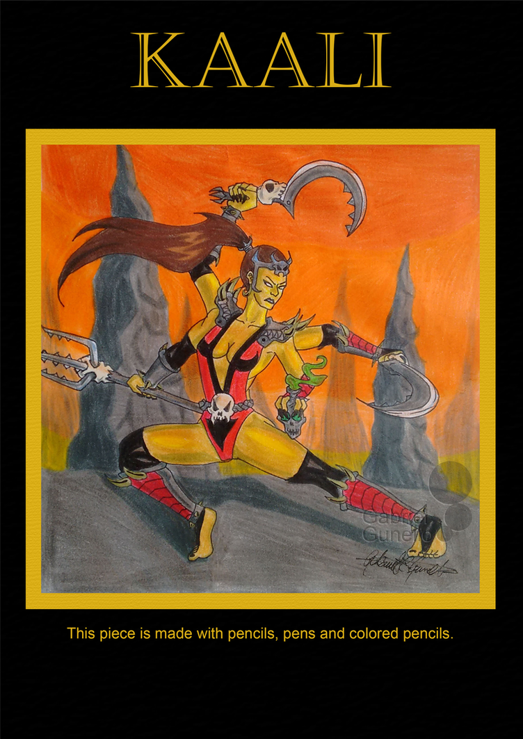 Kaali The Huntress by gabrielcrypto
