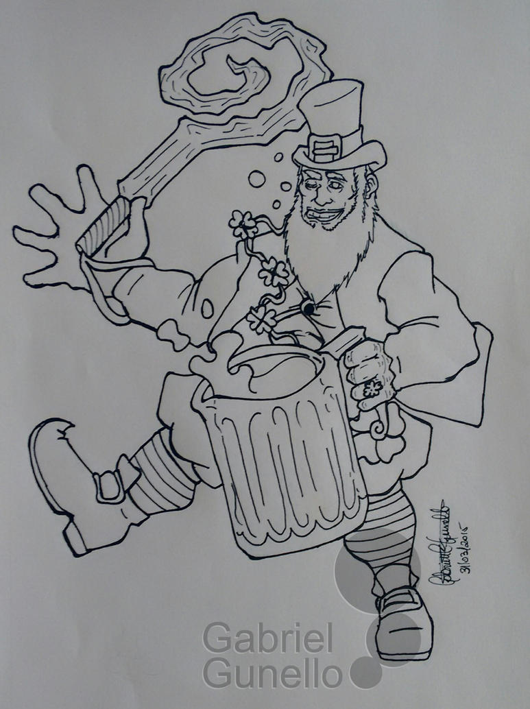 Bacchus St Patrick's Day Skin Concept by gabrielcrypto