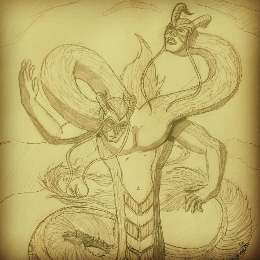 Gemini, Father Of Wind by gabrielcrypto