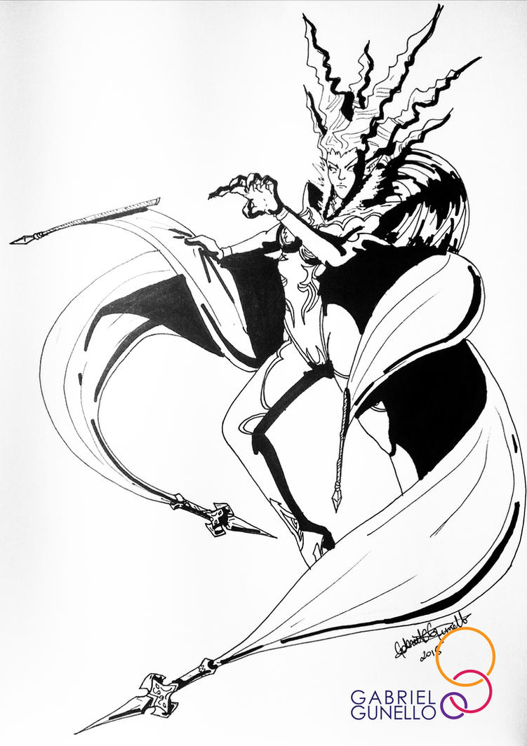 Shiva, Final Fantasy XIV by gabrielcrypto