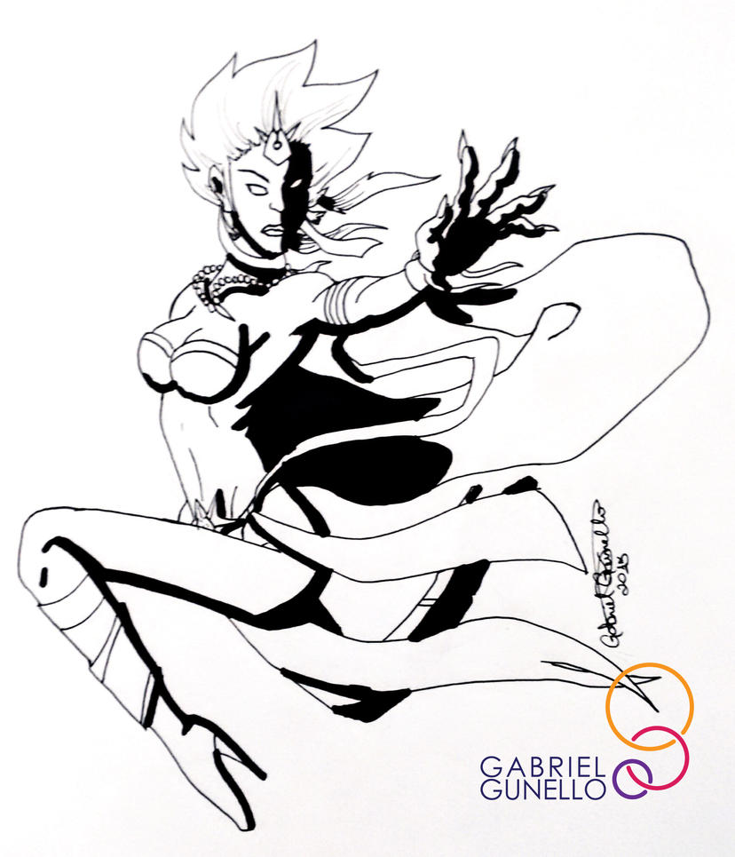 Shiva, Final Fantasy III by gabrielcrypto