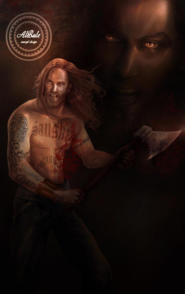 Viking- warrior by dividedmind