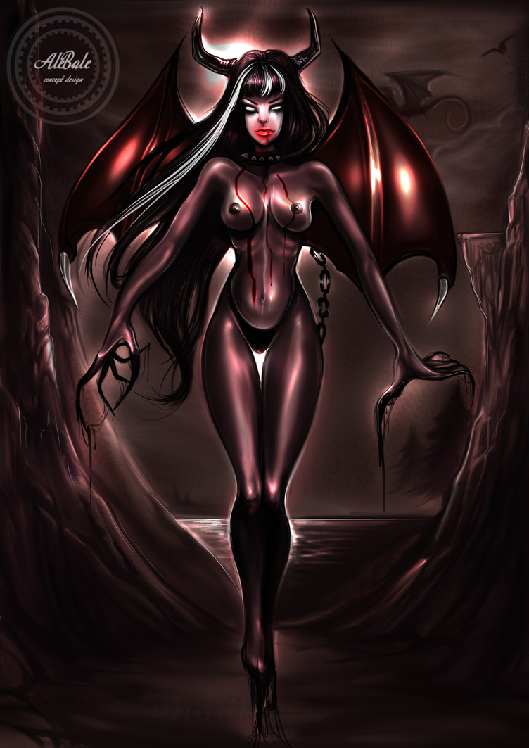 Lady in black by dividedmind