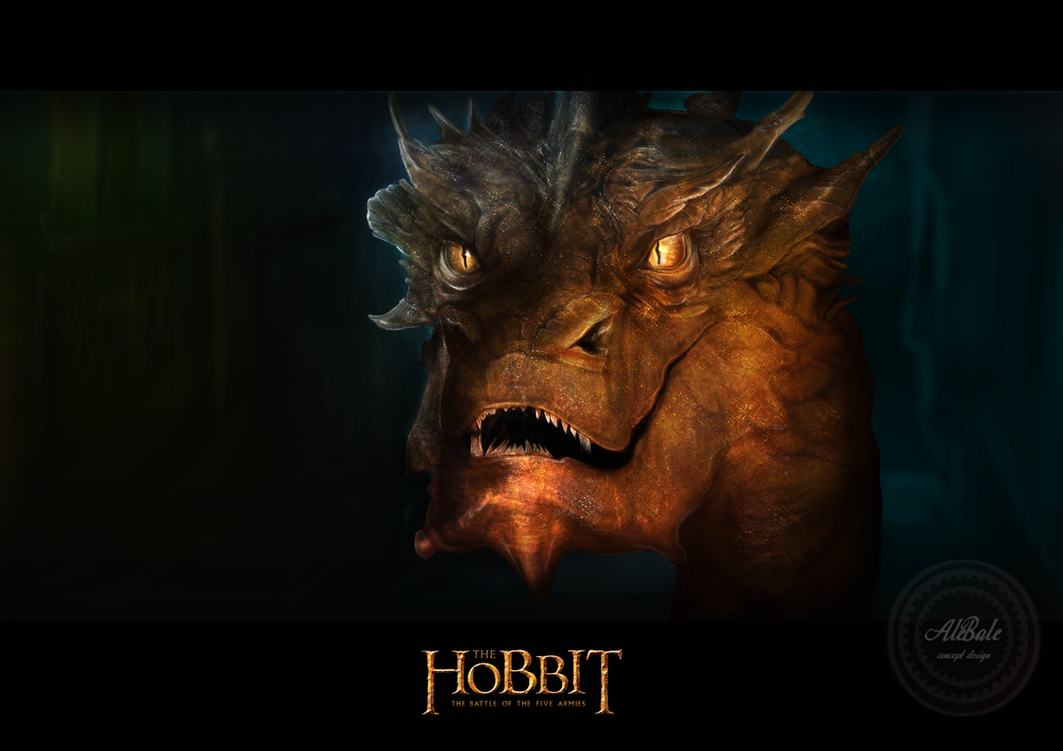 The Battle of the Five Armies - Smaug by dividedmind