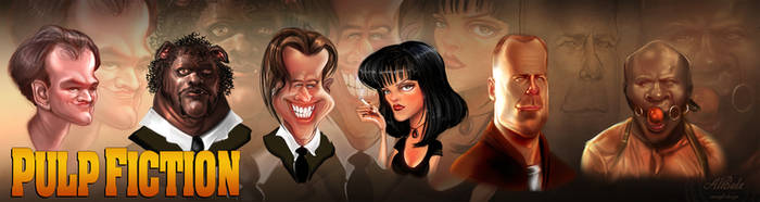 Pulp Fiction by dividedmind