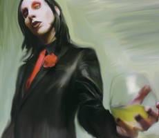 Marilyn Manson by necronomic