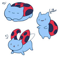 I am Catbug! by Lunasumerin