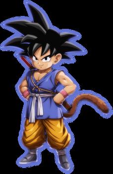 Dragon Ball Fighterz Kid Goku GT