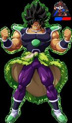 Dragon Ball Fighterz Broly DB Super