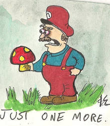 Mario is an addict. by augustusceaser