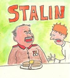 Stalin loves pancakes!