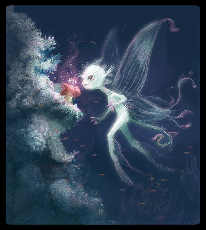 water fairy wallpaper beautiful - photo #20