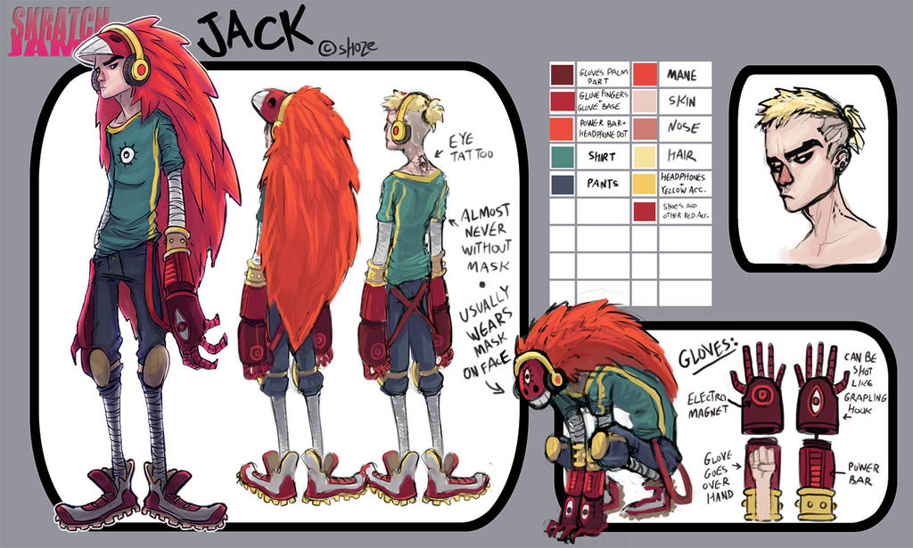 Jack for the skratchjam OC pool by shoze