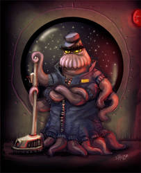 Space Janitor by shoze