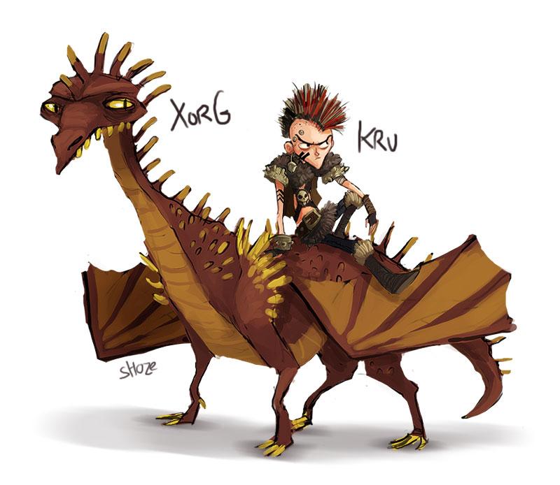 JAC - dragon tamer 5 by shoze