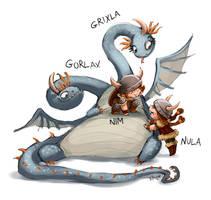 JAC - dragon tamer 8