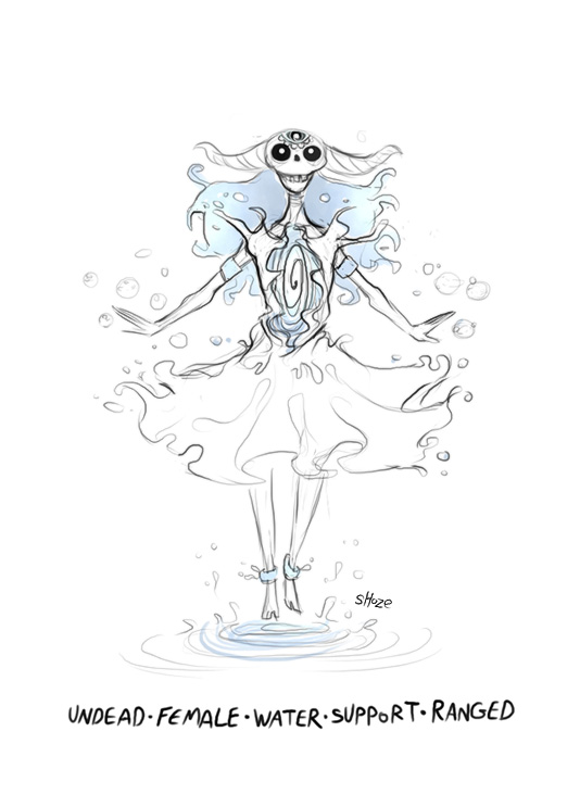 DH - undead water seer by shoze