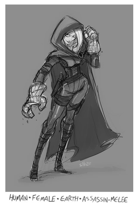 DH - Earth Glove Assassin by shoze