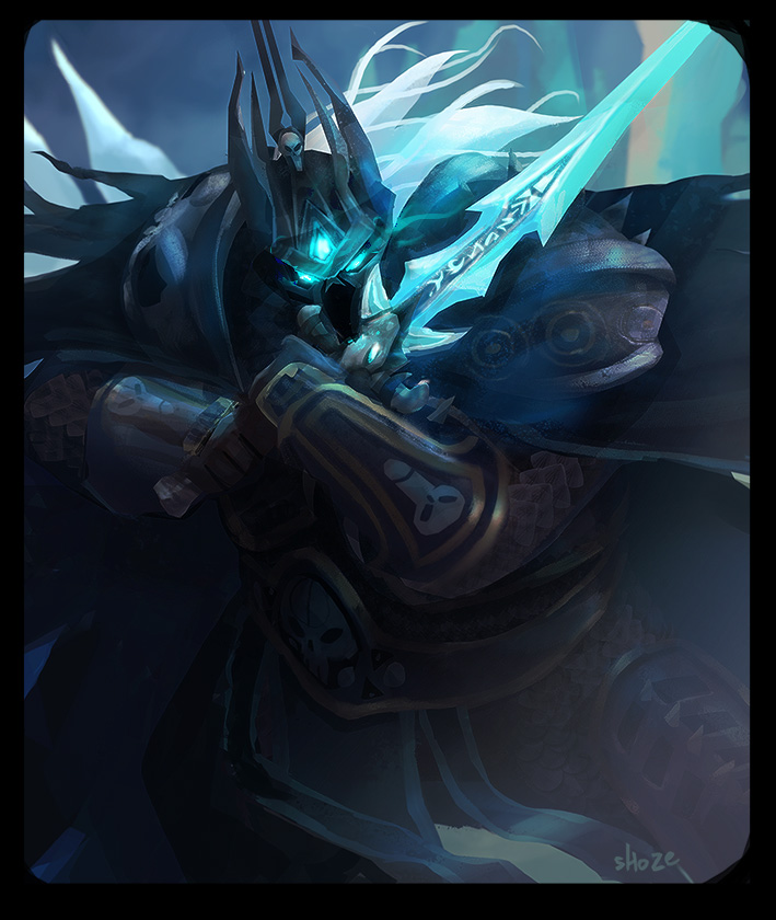 BA - lich king by shoze